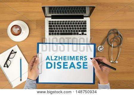 Alzheimers Disease Concept