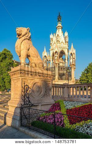 View at the Brunswick Monument in Geneva - Switzerland
