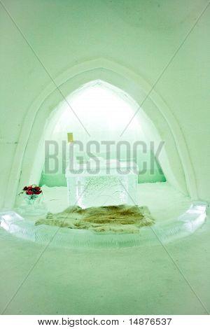 Ice Hotel Wedding Chapel