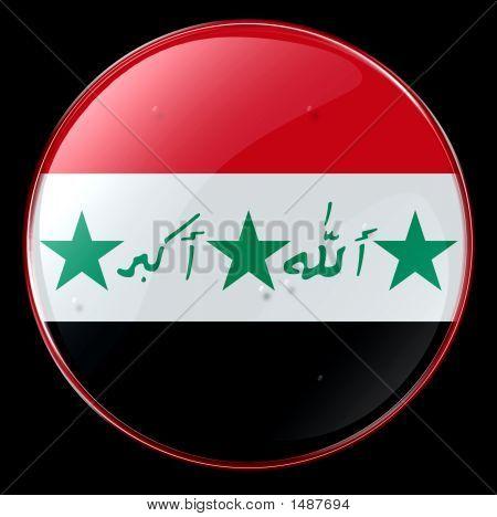 Iraq Flag Button