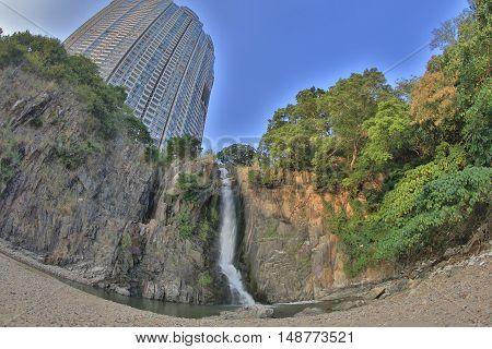 the waterfall bay at hong kong at 2014