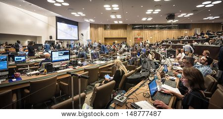 Press Center Of 71St Session Of The United Nations