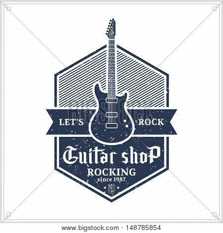 Guitar Shop Logo