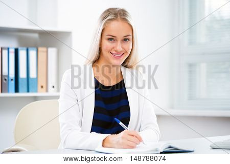 Successful business woman portrait