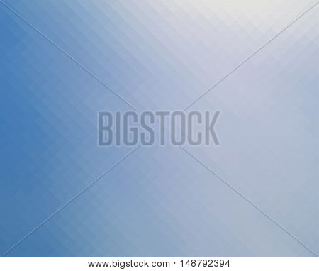 Bluecolor geometric rumpled background. Low poly style gradient illustration. Graphic background.