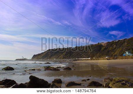 Point Dume State Beach in Malibu California