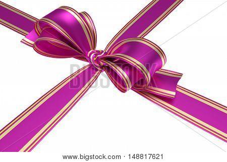 Pink Ribbon And Bow
