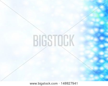 White and blue abstract background for ppt template.