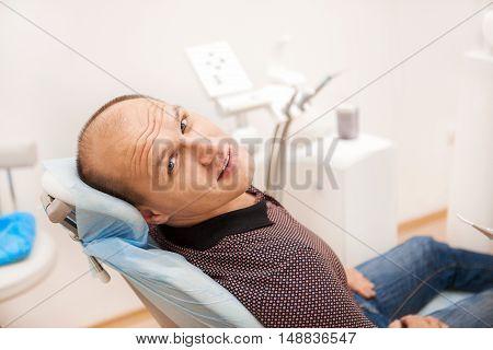 Man In Dentistry.