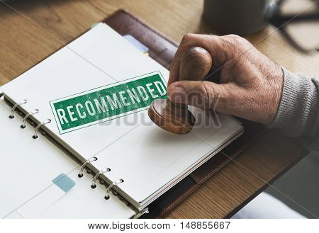Recommended Offer Refer Satisfaction Suggestion Concept