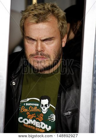 """Jack Black at the World Premiere of """"Walk Hard"""" held at the Grauman's Chinese Theater in Hollywood, USA on December 12, 2007."""