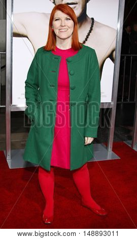 """Kate Flannery at the World Premiere of """"Walk Hard"""" held at the Grauman's Chinese Theater in Hollywood, USA on December 12, 2007."""