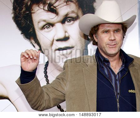 "Will Ferrell at the World Premiere of ""Walk Hard"" held at the Grauman's Chinese Theater in Hollywood, USA on December 12, 2007."