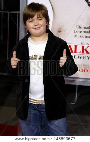 Conner Rayburn at the World premiere of 'Walk Hard' held at the Grauman's Chinese Theater in Hollywood, USA on December 12, 2007.