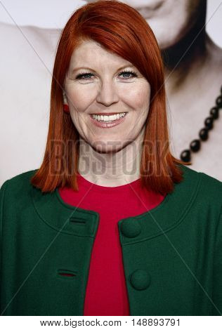 Kate Flannery at the World premiere of 'Walk Hard' held at the Grauman's Chinese Theater in Hollywood, USA on December 12, 2007.