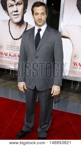 Judd Apatow at the World premiere of 'Walk Hard' held at the Grauman's Chinese Theater in Hollywood, USA on December 12, 2007.