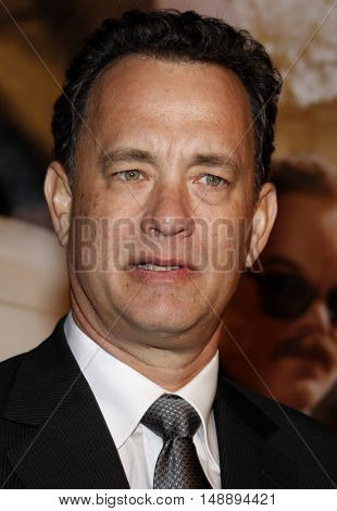 Tom Hanks at the World premiere of 'Charlie Wilson's War' held at the Universal Studios in Hollywood, USA on December 10, 2007.