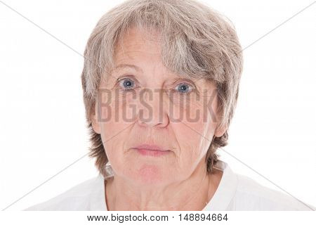 Old age woman