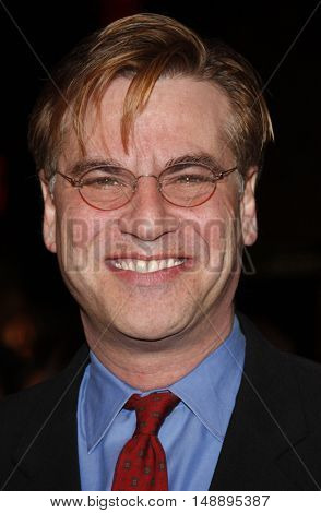 Aaron Sorkin at the World premiere of 'Charlie Wilson's War' held at the Universal Studios in Hollywood, USA on December 10, 2007.