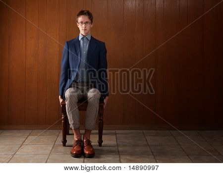 Young Stiff Man