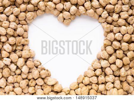 Heart Shape Chickpeas