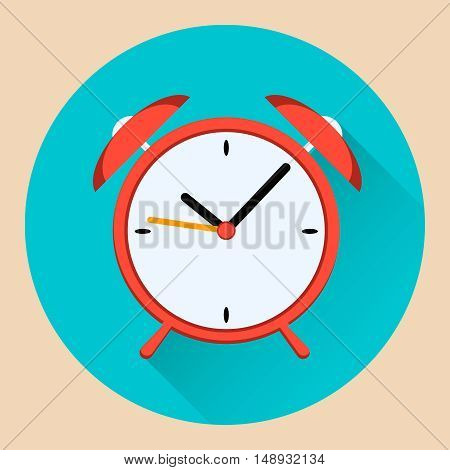 icon alarm clock vector stock illustration eps10