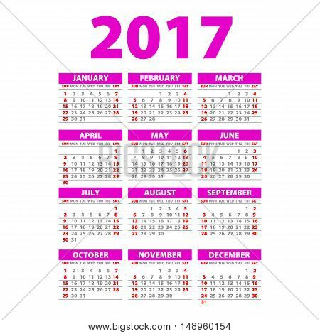 Year Wall Planner. Plan Out Your Whole Year With This 2017 Wall Year Planner. Yearly Wall Calendar P