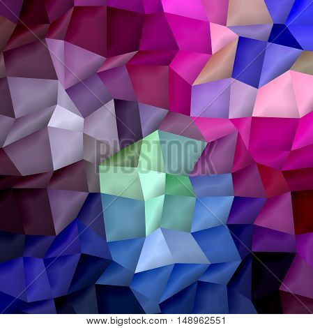 Abstract coloring background of the skyline gradient with visual cubism,lighting and mosaic effects.Good for your project design