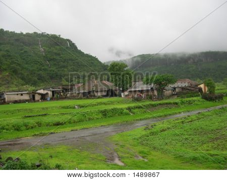 The Rural Roofs Fighting The Monsoon