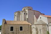 St Donatus Church the largest pre-Romanesque building in Croatia was constructed in the 9th and 10th centuries. poster