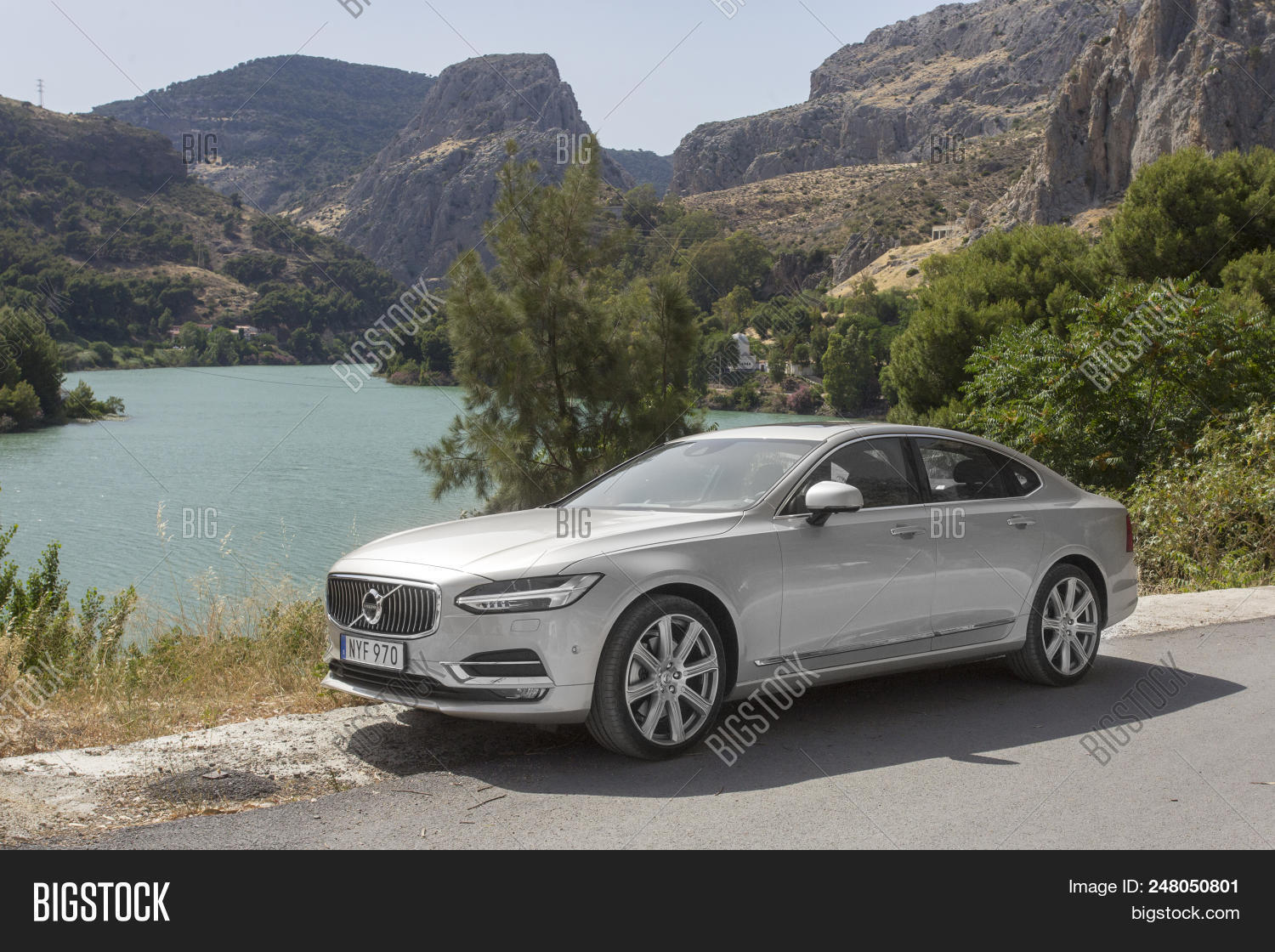 Volvo S90 Business Image Photo Free Trial Bigstock