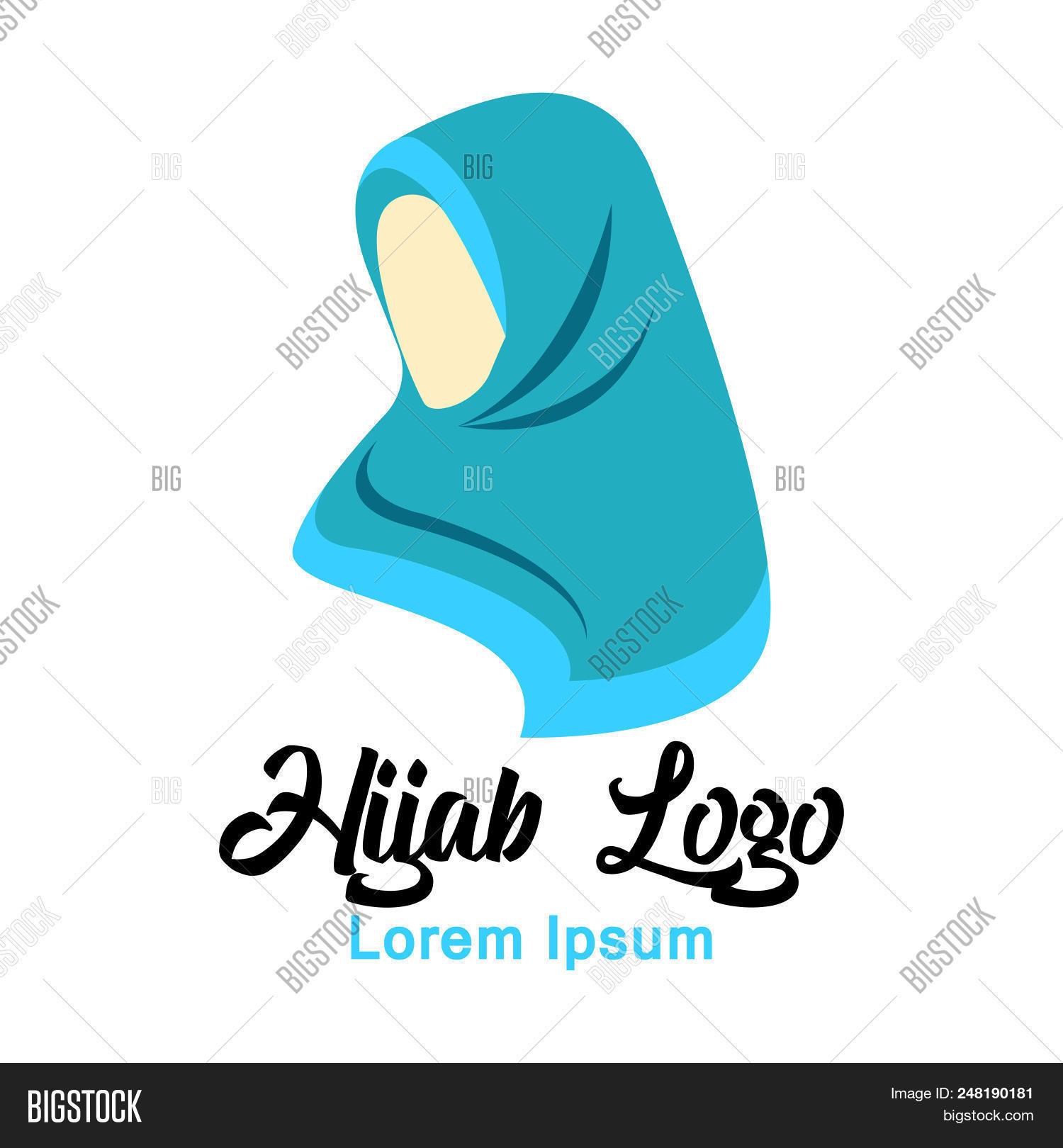 Hijab Logo Vector Photo Free Trial Bigstock