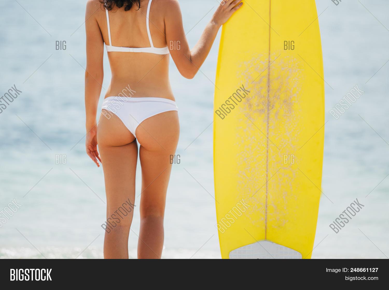 Hot girls ass in bikini bottoms join