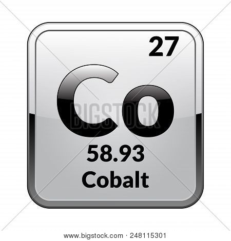 Cobalt Symbol Vector Photo Free Trial Bigstock