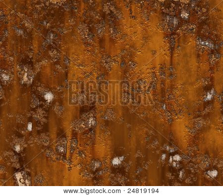 Abstract generated rust metal surface industrial background poster