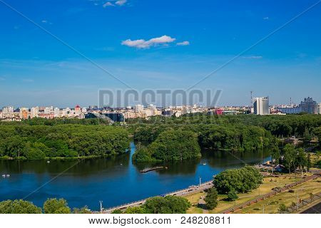 Belarus, Minsk, Komsomolskoe Lake