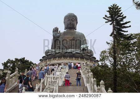 One Of The Biggest Buddhas In China Can Be Found On Lantau