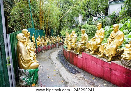 The Path Of 1000 Buddhas, A Temple In The Middle Of Hong Kong