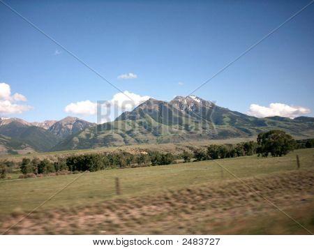 Berge. Montana