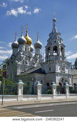 Church Of St. Nicholas In Pyzh-orthodox Church Of The Muscovite Deanery Of The Moscow Diocese; Monum
