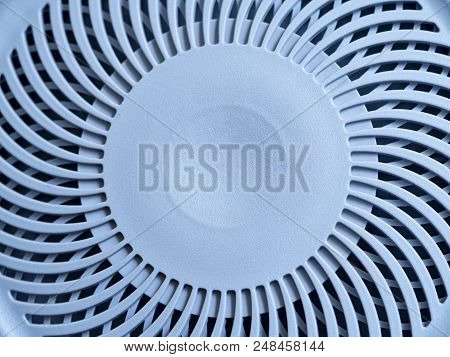 Close Up Of Wheel Vacuum Cleaner Look Like Fan For Background.