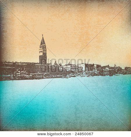 Venetian Vintage Background