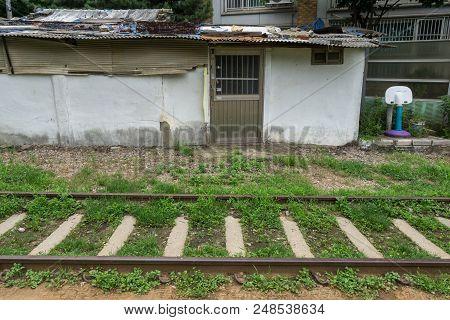 Hangdong Abandoned Railroad And House