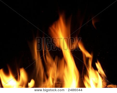 Fire Up Close