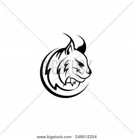 Lynx. Lynx Cat. Lynx icon. Lynx Logo. Lynx Vector. Lynx illustration. Lynx logo vector. Lynx Head. Lynx Head illustration. Lynx Wildcat vector. Lynx Wildcat vector isolated on white background.