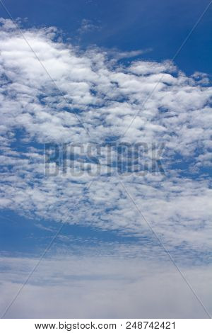 The Sky With Beautiful Clouds.
