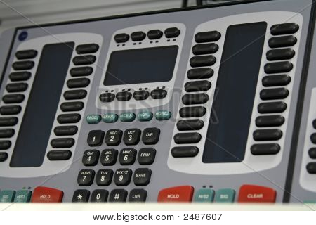 Modern Telephone Switchboard