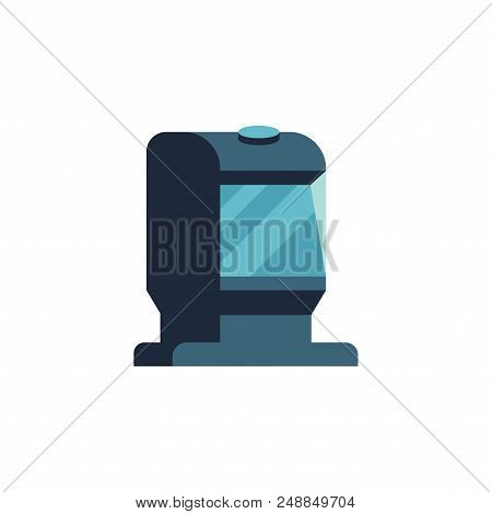 Vector Illustration Of Bar Code Scanner Or Reader Isolated On White Background