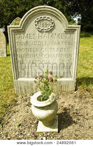 The Grave Of James Hammett