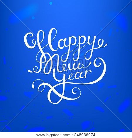 Happy New Year Lettering Design 89
